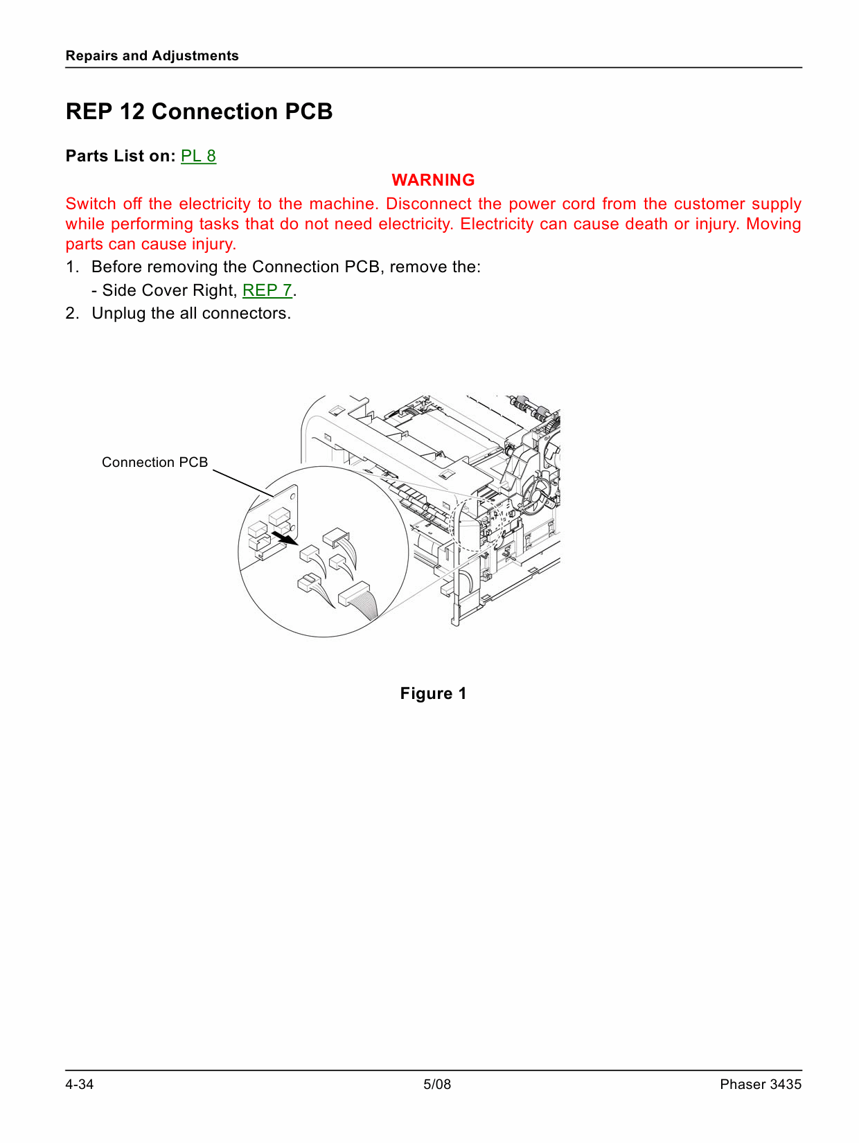 Xerox Phaser 3435 Parts List and Service Manual-4